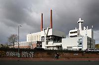 Nederland Eindhoven 2017 .  De oude energiecentrale van Philips.  Innovation Powerhouse. De monumentale centrale wordt verbouwd tot een plek voor de creatieve maakindustrie in de Brainport-regio. Foto Berlinda van Dam / Hollandse Hoogte