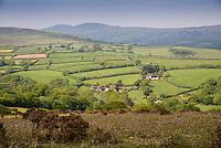View near Lettaford, Dartmoor, Devon.
