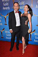 LOS ANGELES, CA. February 17, 2019: Vince Calandra & Emmanuelle Vaugier at the 2019 Writers Guild Awards at the Beverly Hilton Hotel.<br /> Picture: Paul Smith/Featureflash