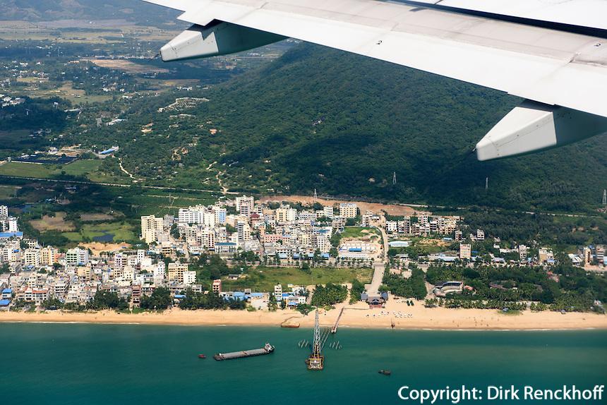 Blick auf  Insel Hainan, China<br /> View on Hainan island, China