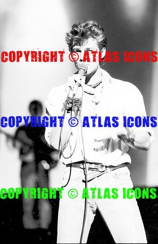 AHA: A-ha; 1986: Live<br /> Photo Credit: Eddie Malluk/AtlasIcons.com