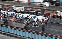 Start U23 men's race.<br /> <br /> U23 Men's Race<br /> UCI CX World Cup Zolder / Belgium 2017