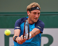 Paris, France, 24 June, 2016, Tennis, Roland Garros,  Thiemo de Bakker (NED) <br /> Photo: Henk Koster/tennisimages.com