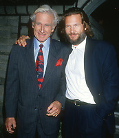 Lloyd Bridges Jeff Bridges<br /> 1994<br /> Photo By Michael Ferguson/CelebrityArchaeology.com