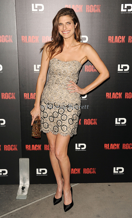 """Lake Bell at the screening of """"Black Rock"""" held at the Arclight Theatre in Los Angeles, CA. on May 8, 2013."""