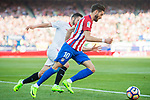 Yannick Ferreira Carrasco (r) of Atletico de Madrid battles for the ball with Pablo Sarabia Garcia of Sevilla FC during their La Liga match between Atletico de Madrid and Sevilla FC at the Estadio Vicente Calderon on 19 March 2017 in Madrid, Spain. Photo by Diego Gonzalez Souto / Power Sport Images