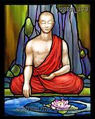 Randy, STILL LIFE STILLLEBEN, NATURALEZA MORTA, paintings+++++SG-Praying-Monk-detail,USRW173,#i#