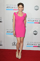 LOS ANGELES, CA - NOVEMBER 18: Eden Sher at the 40th American Music Awards held at Nokia Theatre L.A. Live on November 18, 2012 in Los Angeles, California. Credit: mpi20/MediaPunch Inc. NortePhoto