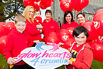 Launching red balloons in aid of Glow Heart for Crumlin  in St Mary's Cathedral Killarney on saturday were front l-r: Oisin Malone Walker and Ciaran Doyle, back: Ella,Gillian and Sinead Malone Walker, Sonia doyle and Sinead O'Connor