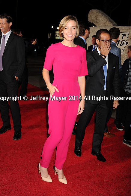WESTWOOD, CA - NOVEMBER 03: Actress Erin Allin O'Reilly arrives at the Los Angeles premiere of 'Dumb And Dumber To' at Regency Village Theatre on November 3, 2014 in Westwood, California.