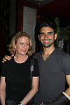 Eve Plumb (Brady Bunch and Days and All My Children) stars with Mauricio Perez in Miss Abigail's guide to Dating, Mating & Marriage on May 28, 2011 at Sofia's Downstairs Theatre, New York City, New York. (Photo by Sue Coflin/Max Photos)