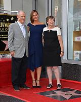 LOS ANGELES, CA. August 20, 2018: Jennifer Garner, William John Garner & Patricia Ann Garner at the Hollywood Walk of Fame Star Ceremony honoring actress Jennifer Garner.