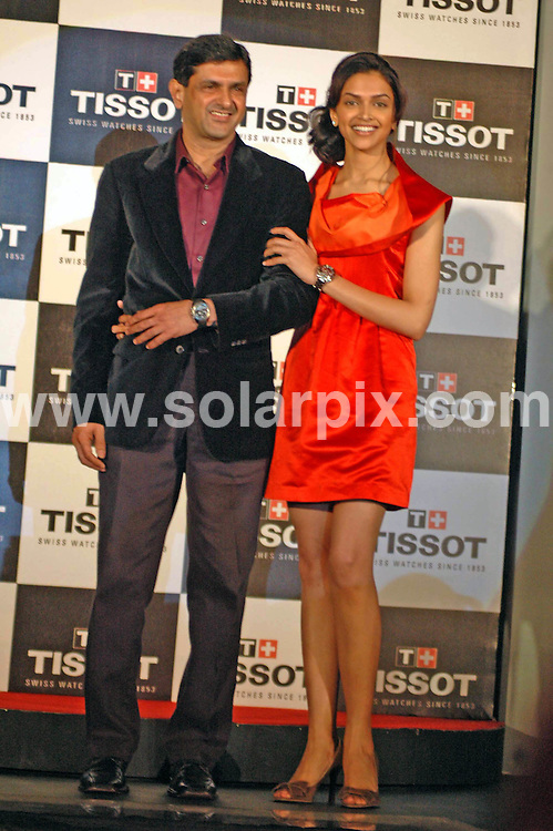 **ALL ROUND PICTURES FROM SOLARPIX.COM**.**WORLDWIDE SYNDICATION RIGHTS**.Bollywood actress Dipika Padukoan launched a Tissot Swiss watch at ITC Maratha Hotel, Parel, in Mumbai, India. 5 March 2009. ..This pic: Dipika Padukoan..JOB REF: 9583 SJA        DATE: 05_03_2009.**MUST CREDIT SOLARPIX.COM OR DOUBLE FEE WILL BE CHARGED**.**MUST NOTIFY SOLARPIX OF ONLINE USAGE**.**CALL US ON: +34 952 811 768 or LOW RATE FROM UK 0844 617 7637**