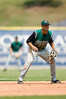 Augusta shortstop Emmanuel Burris (5) on defense versus Kannapolis at Fieldcrest Cannon Stadium in Kannapolis, NC, Monday, September 3, 2007.