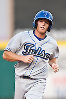 July 21, 2010 Jason Von Kooten (1) in action during the MiLB game between the Tulsa Drillers and the Springfield Cardinals at Hammons Field in Springfield Missouri.  Tulsa won 5-3