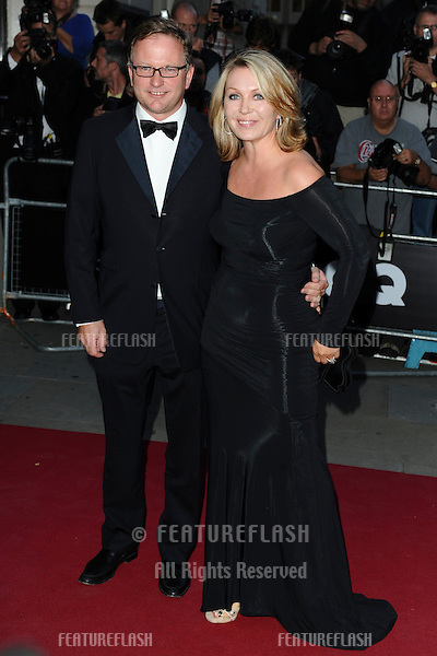 Nick Jones and newsreader, Kirsty Young arriving for the GQ Awards 2010, at the Royal Opera House, London. 07/09/2010  Picture by:  Steve Vas / Featureflash