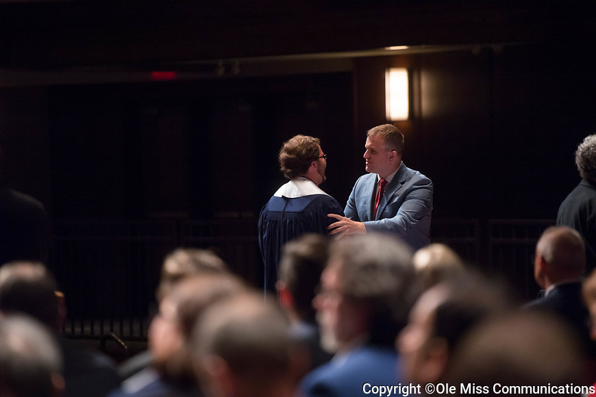 2017 SMBHC Senior Presentations.  Photo by Kevin Bain/Ole Miss Communications