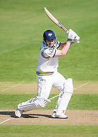 Picture by Allan McKenzie/SWpix.com - 20/04/2018 - Cricket - Specsavers County Championship - Yorkshire County Cricket Club v Nottinghamshire County Cricket Club - Emerald Headingley Stadium, Leeds, England - Yorkshire's Andrew Hodd hits out on his way to a half-century before tea against Nottinghamshire.