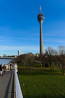 Dusseldorf TV Tower Rheinturm, Germany