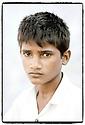 Inde- désert du Rajasthan, enfant.