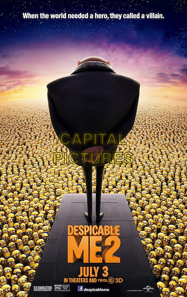 POSTER ART<br /> in Despicable Me 2 (2013) <br /> *Filmstill - Editorial Use Only*<br /> CAP/FB<br /> Supplied by Capital Pictures