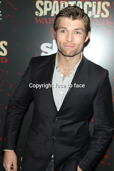 "Liam Mcintyre at the final season premiere of Starz's ""Spartacus: War of the Damned"" at the Museum of Modern Art in New York City. January 24, 2013. ..Credit: MediaPunch/face to face..- Germany, Austria, Switzerland, Eastern Europe, Australia, UK, USA, Taiwan, Singapore, China, Malaysia and Thailand rights only -"
