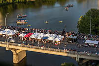 The City of Austin goes batty for one night during Bat Fest and celebrates the world's largest urban bat colony of 1.5 million Mexican free-tailed bats which take up seasonal residence in the Congress Avenue Bridge. This one night city-wide celebration is for the entire family to enjoy live music, children activities, a costume contest and more.