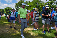 Tyrrell Hatton (ENG) makes his way to 3 during round 3 of the 2019 Charles Schwab Challenge, Colonial Country Club, Ft. Worth, Texas,  USA. 5/25/2019.<br /> Picture: Golffile | Ken Murray<br /> <br /> All photo usage must carry mandatory copyright credit (© Golffile | Ken Murray)