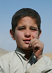 Paghman, Afghanistan; October 24, 2002 -- Child, boy from rural area; People, Portrait -- Photo: © HorstWagner.eu