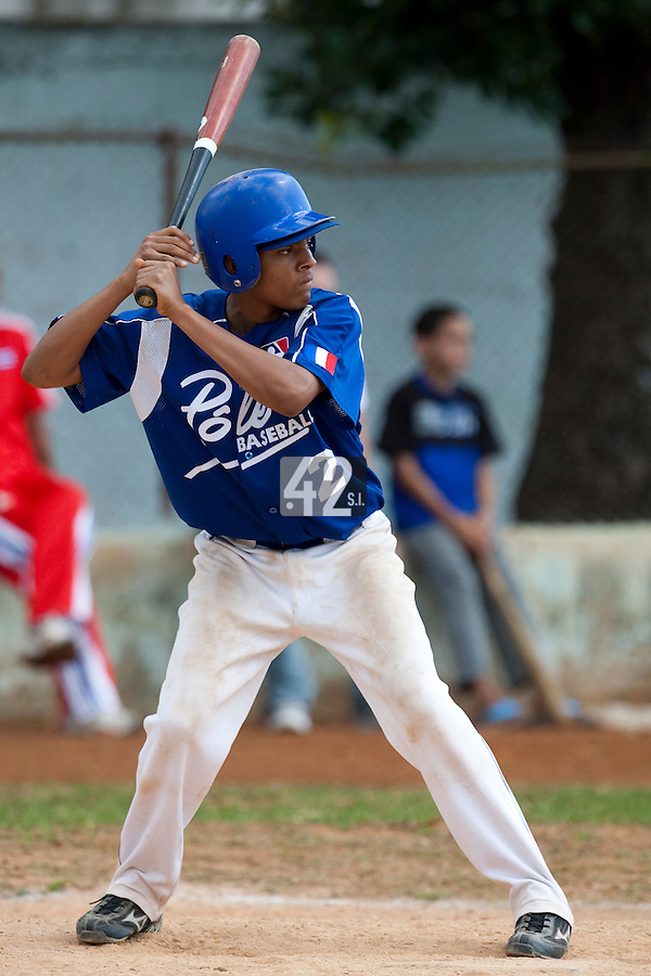 BASEBALL - POLES BASEBALL FRANCE - TRAINING CAMP CUBA - HAVANA (CUBA) - 13 TO 23/02/2009 - ANDY PAZ (FRANCE)