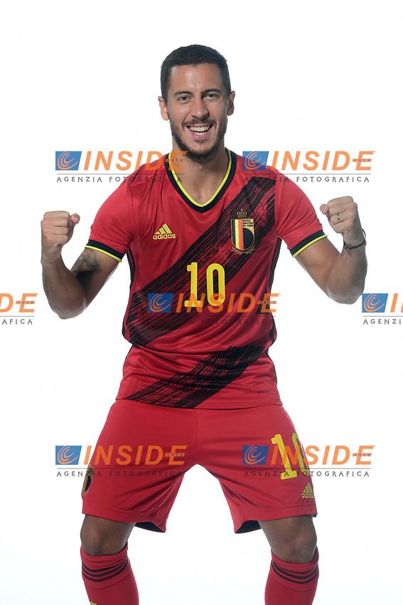 Eden Hazard midfielder of Belgium  <br /> Tubize 12/11/2019 <br /> Calcio presentazione della nuova maglia della Nazionale del Belgio <br /> Photo De Voecht  Kalut/Photonews/Panoramic/insidefoto<br /> ITALY ONLY