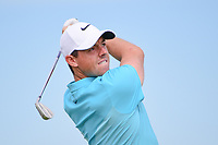 Rory McIlroy (NIR) watches his tee shot on 13 during Friday's round 2 of the 117th U.S. Open, at Erin Hills, Erin, Wisconsin. 6/16/2017.<br /> Picture: Golffile | Ken Murray<br /> <br /> <br /> All photo usage must carry mandatory copyright credit (&copy; Golffile | Ken Murray)