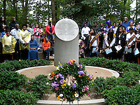 Slave Memorial Ceremony at the home of George Washington at Mount Vernon, Virginia