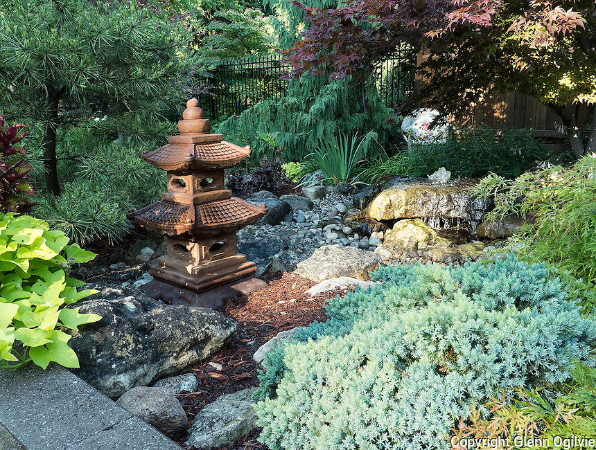 Heather Virostek,<br />  551 Hollywood Place<br />  519-383-8933<br /> hvirostek@hotmail.ca<br /> <br /> My yard consists of a water feature as you enter the backyard,surrounded by Bruce rock Japanese maple,host as,variegated pine tree etc.As you go down the steps of the patio you see a tri coloured beech tree and more before entering the trellis  and the hemlock tree and hydrangeas and walk around the path with a split rail fence and to the right you see a majestic forest of White pines ,cedars and spruce trees.