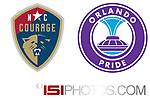 Cary, North Carolina - April 29, 2017: North Carolina Courage 3-1 Orlando Pride at Sahlen's Stadium at WakeMed Soccer Park in a 2017 NWSL Regular Season game. Photos available through www.ISIphotos.com