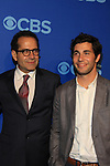 We Are Men cast: Jerry O'Connell, Kal Penn, Tony Shaloub, Chris Smith at the CBS Upfront on May 15, 2013 at Lincoln Center, New York City, New York. (Photo by Sue Coflin/Max Photos)
