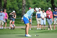 Carlota Ciganda (ESP) watches her putt on 2 during round 1 of the 2018 KPMG Women's PGA Championship, Kemper Lakes Golf Club, at Kildeer, Illinois, USA. 6/28/2018.<br /> Picture: Golffile | Ken Murray<br /> <br /> All photo usage must carry mandatory copyright credit (&copy; Golffile | Ken Murray)