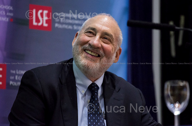 London, 19/05/2015. Today, LSE (London School of Economics and Political Studies) presented a public lecture called &quot;The Great Divide&quot; hosted by the author of the homonymous book, Prof. Joseph E. Stiglitz (American economist, Professor at Columbia University, recipient of the Nobel Memorial Prize in Economic Sciences in 2001 and the John Bates Clark Medal in 1979. He is the former Senior Vice President and Chief Economist of the World Bank, and he is also a former member and chairman of the US President's Council of Economic Advisers. Prof. Stiglitz is well known for his critical view of the management of globalization, free-market economists - whom he calls &quot;free market fundamentalists&quot; - , and some international institutions like the International Monetary Fund and the World Bank. In 2000, Stiglitz founded the Initiative for Policy Dialogue, IPD, a think tank on international development based at Columbia University). Chair of the event was Prof. Sir John Robert Hills CBE (British academic, he is a professor of Social Policy at the London School of Economics and has been director of the ESRC Research Centre for the Analysis of Social Exclusion since 1997. His work has focused on inequality).<br />