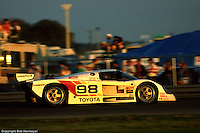 The Eagles of Dan Gurney's All American Racers were among the most popular entries in IMSA's fabled GTP category, with the 1989 24 Hours of Daytona being the team's first race in the category.