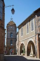 Europe/France/Midi-Pyrénées/82/Tarn-et-Garonne/Auvillar: La Tour de l'Horloge