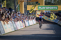 Mathieu van der Poel (NED/Beobank-Corendon) wins once again<br /> <br /> Elite Men's Race<br /> CX Super Prestige Zonhoven 2017