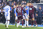 CD Leganes's  Rodrigo Tarín (L) and RC Celta de Vigo's Gabriel Fernandez during La Liga match 2019/2020 round 16<br /> December 8, 2019. <br /> (ALTERPHOTOS/David Jar)