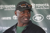 Todd Bowles, head coach, speaks with the media after a day of New York Jets Training Camp at Atlantic Health Jets Training Center in Florham Park, NJ on Tuesday, Aug. 1, 2017.
