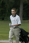 ARNHEM - Joost Luiten met water.     Voorjaarswedstrijden Golf heren op de Rosendaelsche Golfclub COPYRIGHT KOEN SUYK