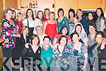 HEN AT THE RACES: Una O'Sullivan of Caherdaniel enjoying her hen night with family and friends .at the Tralee Greyhound  track on Saturday night front l:r Aileen O'Donoghee, Elaine O'Shea, Bernie O'Sullivan, Cait McCarthy and Amanda Kelly. Seated l:r Mary Cronin, Bernie, Una , and Stephanie O'Sullivan and Mary Conway. Back l:r Bernie Cronin, Tess Flynn, Kathlean Clifford, Diane Moriarty, Cait McCarthy, Marie Lineman, Chris Cronin, Ann Marie and Kathy Conor, Fleur Daly and Madeline and Mary Cronin    Copyright Kerry's Eye 2008
