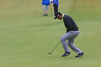 Jon Rahm (ESP) on the 6th during Round 2 of the Irish Open at LaHinch Golf Club, LaHinch, Co. Clare on Friday 5th July 2019.<br /> Picture:  Thos Caffrey / Golffile<br /> <br /> All photos usage must carry mandatory copyright credit (© Golffile | Thos Caffrey)