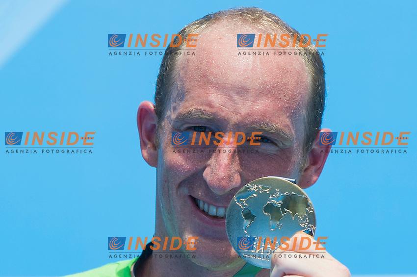 Thomas Lurz GER gold medal<br /> Men 25 km <br /> Open Water<br /> 15th FINA World Aquatics Championships<br /> Barcelona 19 July - 4 August 2013<br /> Barcelona (Spain) 27/07/2013 <br /> &copy; Giorgio Perottino / Deepbluemedia.eu / Insidefoto
