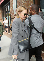 www.acepixs.com<br /> <br /> November 2 2017, New York City<br /> <br /> Model and actress Lara Bingle wears a checked suit as she walks in Tribeca on November 2 2017 in New York City<br /> <br /> By Line: Philip Vaughan/ACE Pictures<br /> <br /> <br /> ACE Pictures Inc<br /> Tel: 6467670430<br /> Email: info@acepixs.com<br /> www.acepixs.com