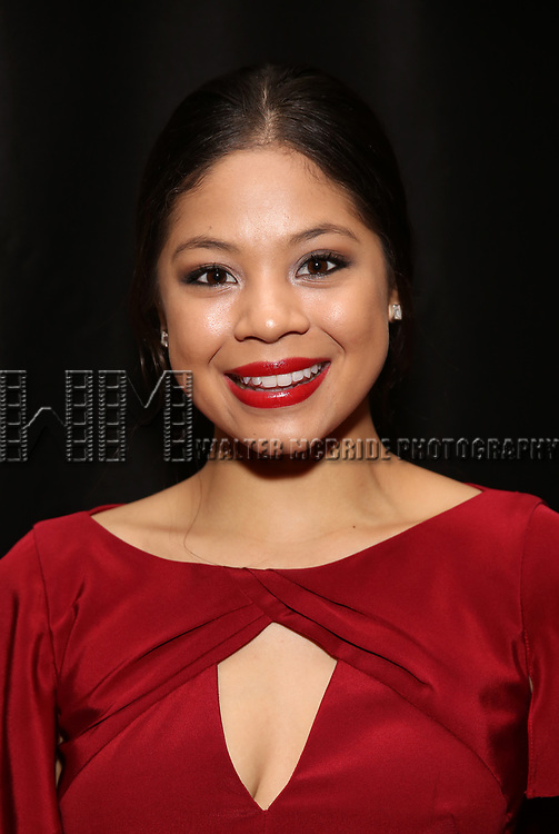 Eva Noblezada  attends 32nd Annual Lucille Lortel Awards at NYU Skirball Center on May 7, 2017 in New York City.