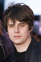 Jake Bugg arriving for the &quot;Rampage&quot; premiere at the Cineworld Empire Leicester Square, London, UK. <br /> 11 April  2018<br /> Picture: Steve Vas/Featureflash/SilverHub 0208 004 5359 sales@silverhubmedia.com